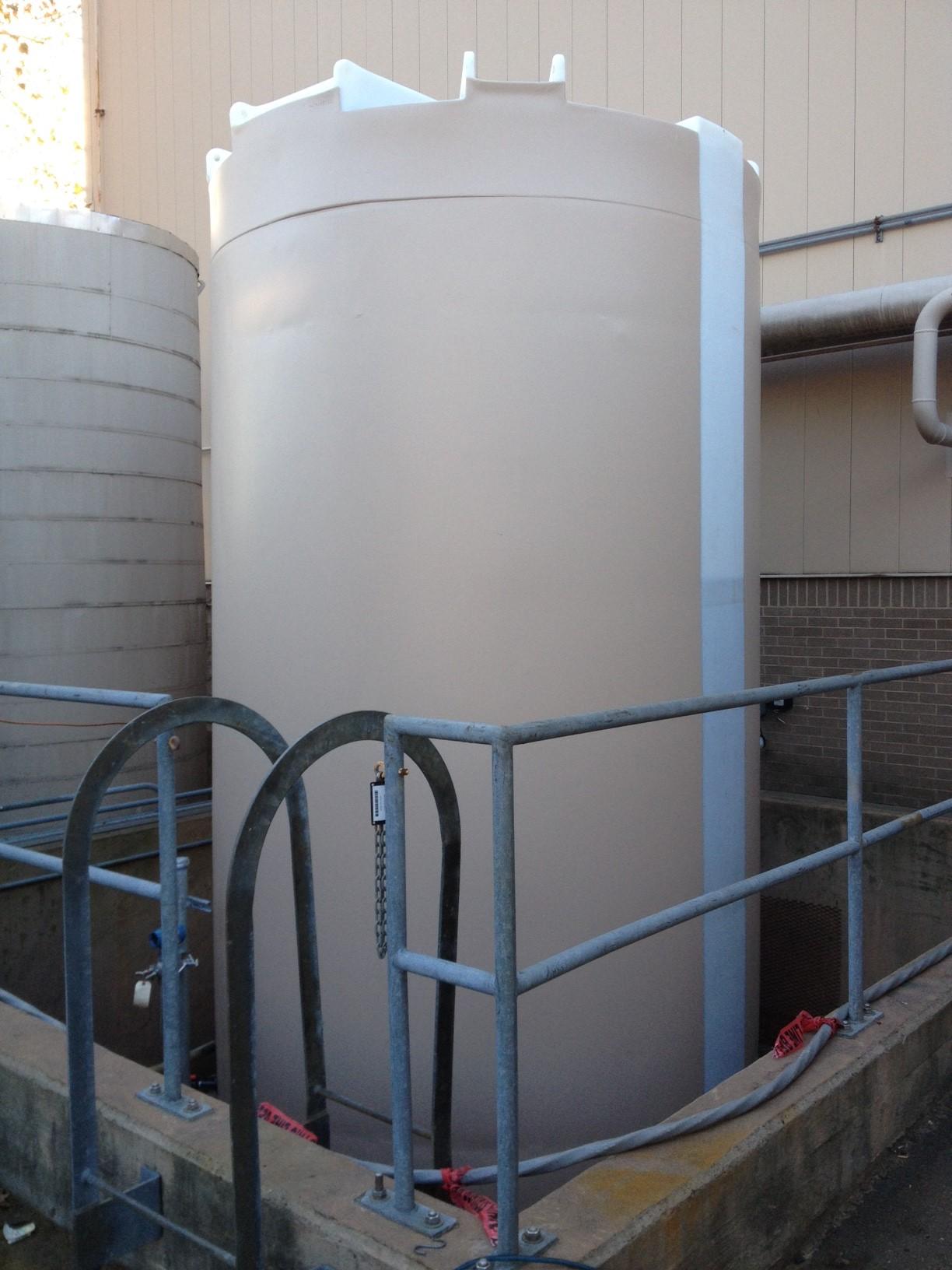 brine storage tanks